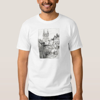 Antique Robida France French Landscape Shirts