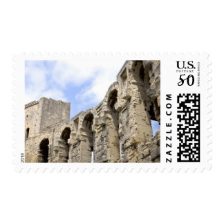 Antique Roman amphitheater's in Arles, 2 Postage