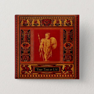 Antique Roman Soldier Button