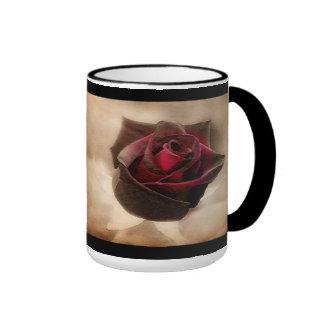 Antique Rose Coffee Mugs