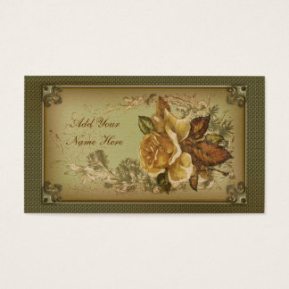 Antique Rose (new green edition) Business Card