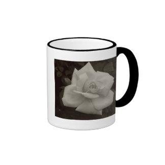antique rose ringer mug