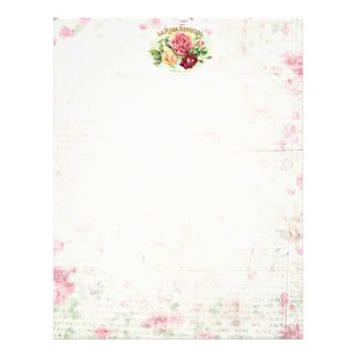 Antique Rose Scrapbooking/Stationary paper
