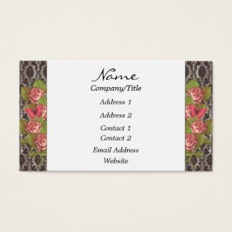 Antique Roses Business Card