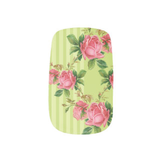 Antique Roses Minx Nail Coverings Minx ® Nail Wraps