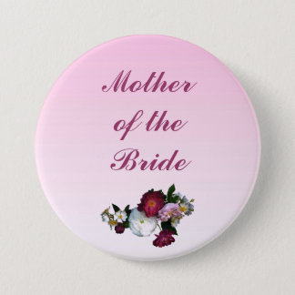 Antique Roses Mother of the Bride Pin