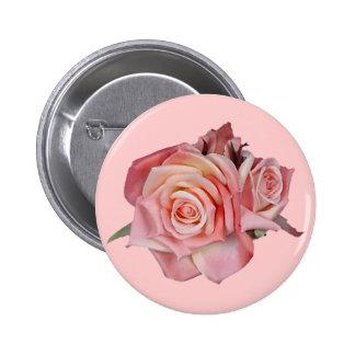 Antique Roses Pinback Button