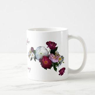 Antique Roses Wedding Coffee Mug