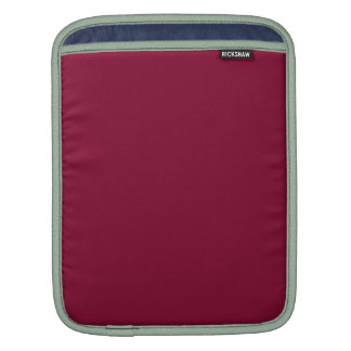ANTIQUE RUBY RED (a solid deep rich color) ~ Sleeves For iPads
