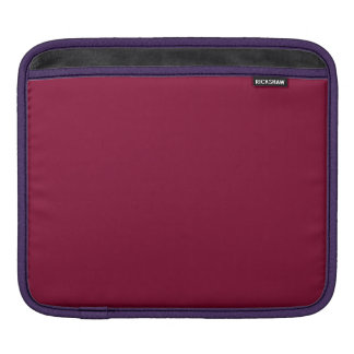 ANTIQUE RUBY RED (a solid deep rich color) ~ iPad Sleeves
