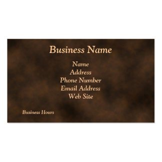 Antique Rustic Metal-Look Business Cards