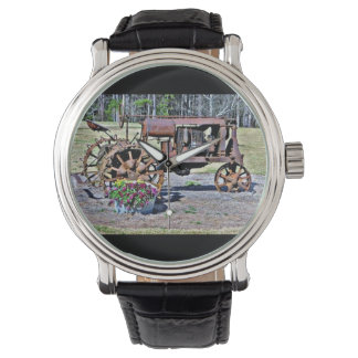 Antique Rustic Tractor Watch