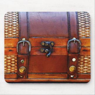 Antique Satchel Carry Bag or Purse Mousepad
