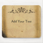 Antique Scroll Mouse Pads