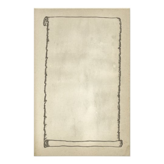 Antique Scroll Paper: Antique Scroll Stationery Paper