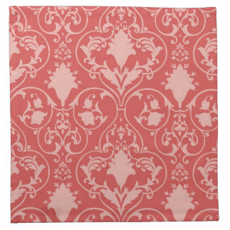 Antique scroll wallpaper cloth napkin