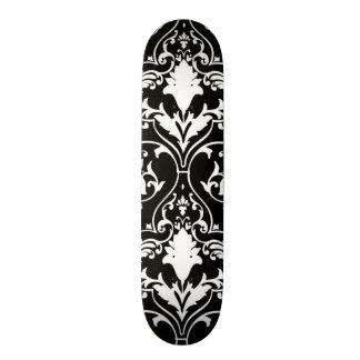 Antique scroll wallpaper skateboard