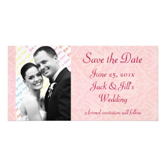 "Antique Scroll Wedding ""Save the Date"" Card"