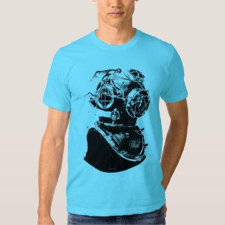 Antique Scuba Diver Tee Shirt