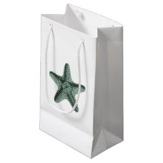 Antique Sea Starfish Illustration Small Gift Bag