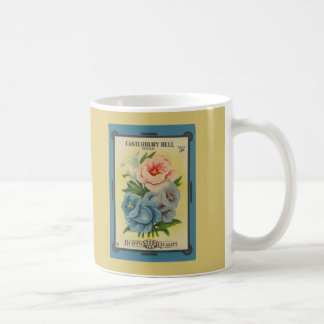 Antique Seed Packet: Canterbury Bells Coffee Mug