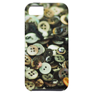 Antique Sewing Buttons Case iPhone 5 Cover