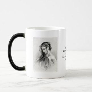 Antique Shakespeare Ophelia John Hayter Portrait 11 Oz Magic Heat Color-Changing Coffee Mug