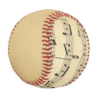 Antique Sheet Music Baseball