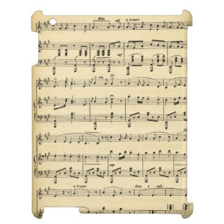 Antique Sheet Music Case For The iPad 2 3 4