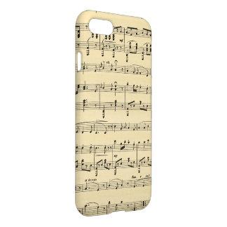 Antique Sheet Music iPhone 7 iPhone 7 Case