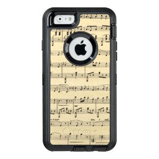 Antique Sheet Music OtterBox Defender iPhone Case