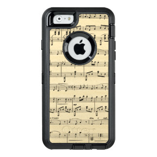 Antique Sheet Music OtterBox iPhone 6/6s Case