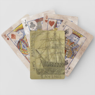 Antique Ship Deck Playing Cards