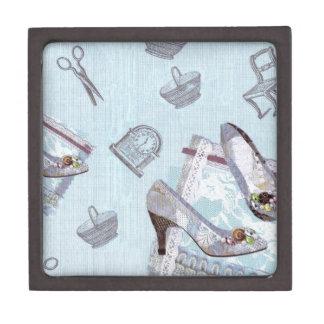 Antique Shoes_Blue Premium Gift Box