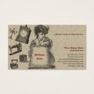 Antique Shop / Antique Dealer / Vintage Art Business Card