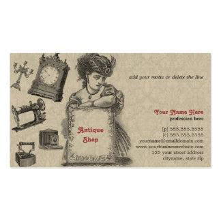 Antique Shop / Antique Dealer / Vintage Art Business Card Template