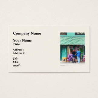 Antique Shop Canandaigua NY Business Card