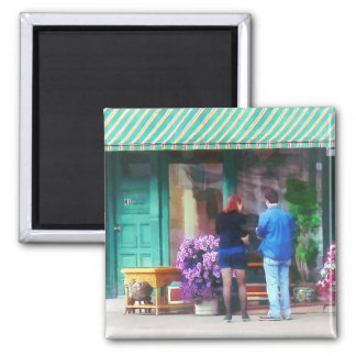 Antique Shop Canandaigua NY Fridge Magnet
