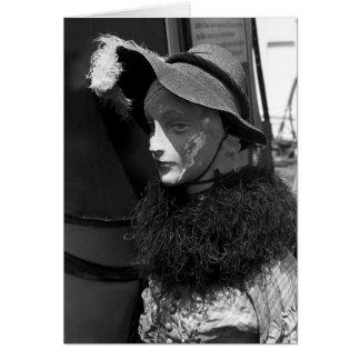 Antique Shop Mannequin, 1941 Card