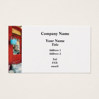 Antique Shop Waterbury VT Business Card
