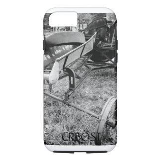 Antique Silage Cutter Cell Phone Case