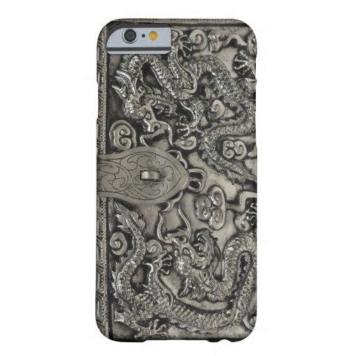 antique silver dragon iPhone 6 case