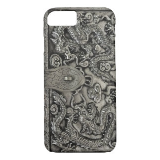 antique silver dragon iPhone 7 case