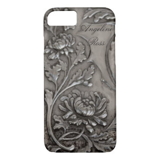 antique silver iPhone 7 case