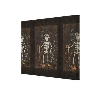 Antique Skeleton Canvas Prints