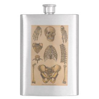 Antique Skeleton Flask