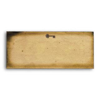 Antique Skeleton Key Envelope