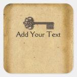 Antique Skeleton Key Stickers