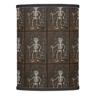 Antique Skeleton Spooky Gothic Lamp Shade