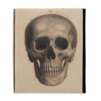 Antique Skull Illustration Caseable Case iPad Folio Cases